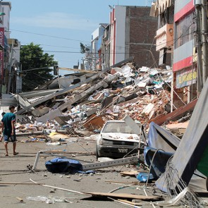 Powerful earthquakes hit Japan and Ecuador
