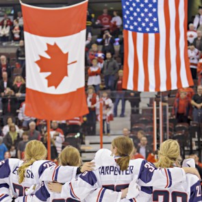 Encore! It's Canada v. the United States for women's hockey gold