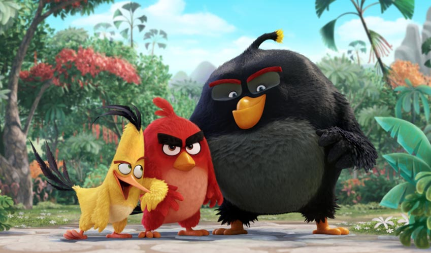 MOVIE PREVIEW: The Angry Birds Movie