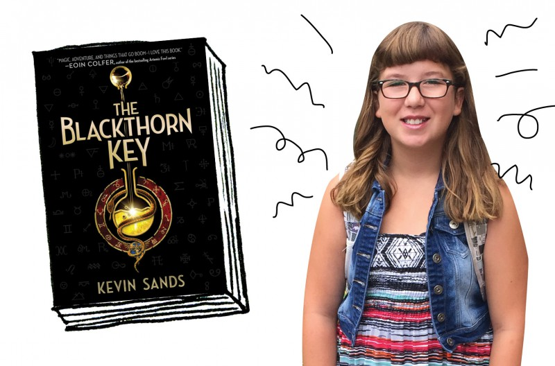 OWL reader Zoe reviews The Blackthorn Key