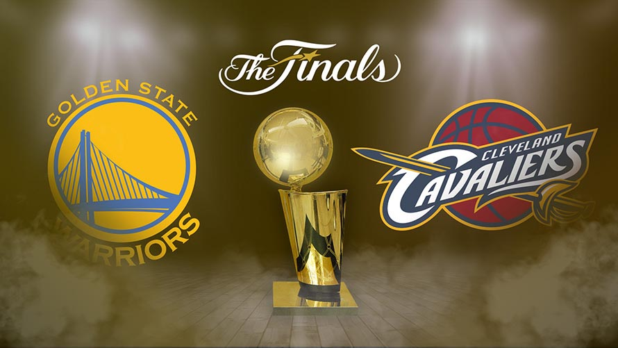5fbf93032ba7 Rematch! It s Warriors vs. Cavaliers again in NBA final - Owl Connected