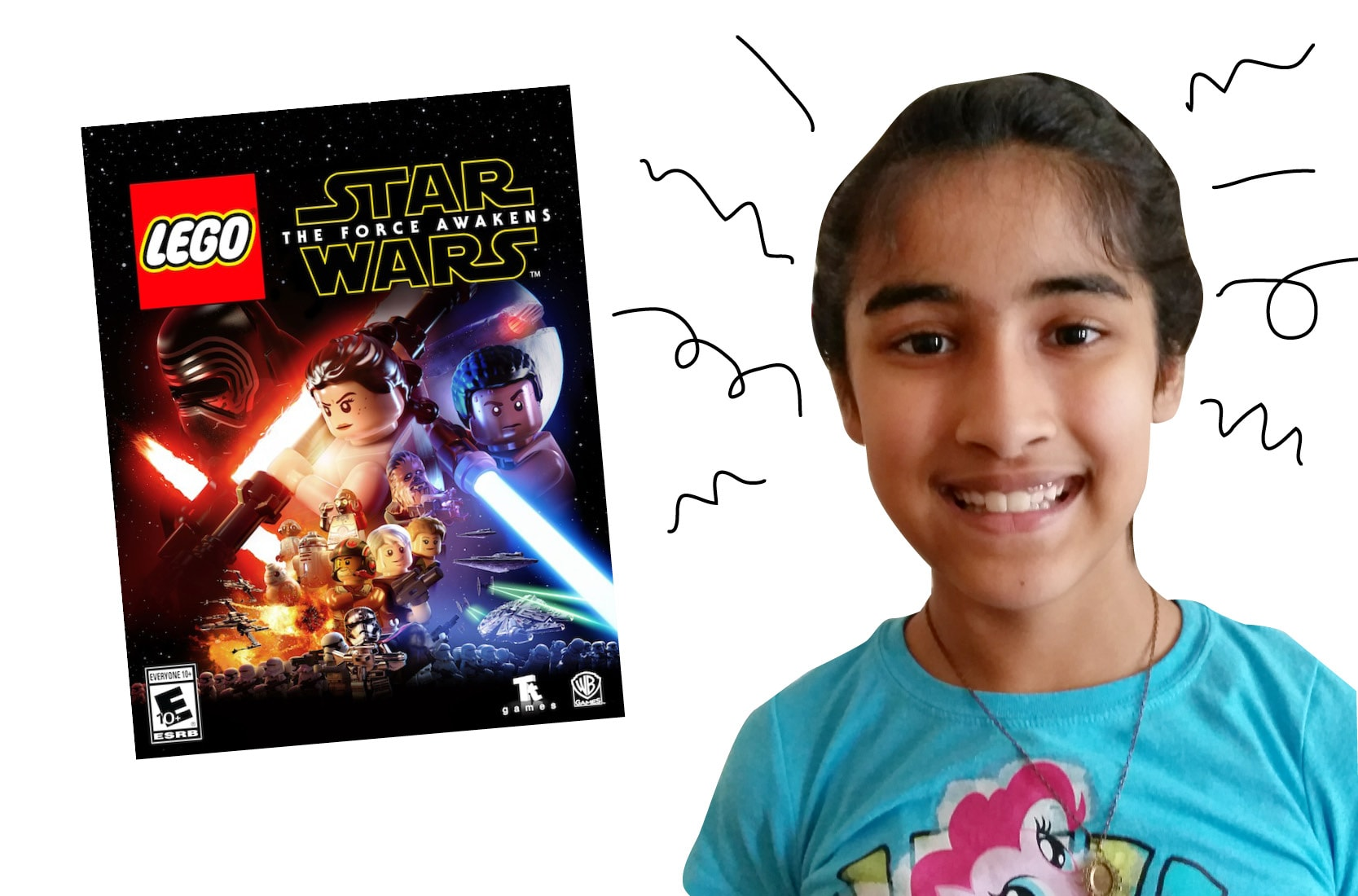 OWL reader Paavni and LEGO Star Wars: The Force Awakens video game