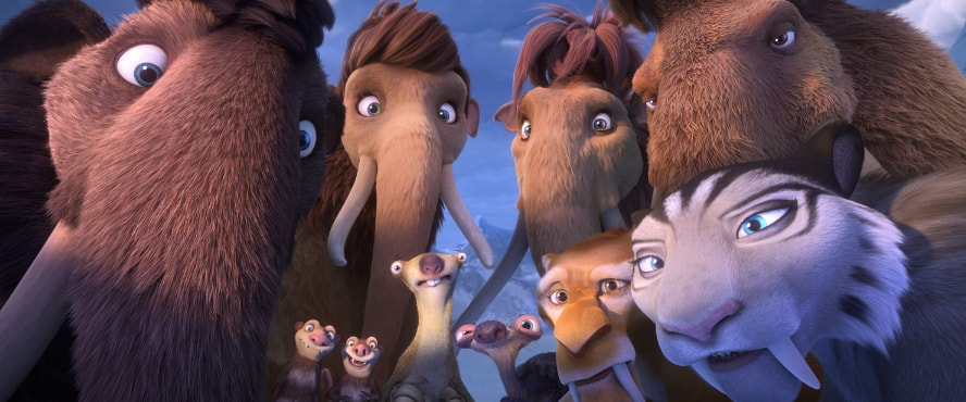 Ice Age Collision Course herd