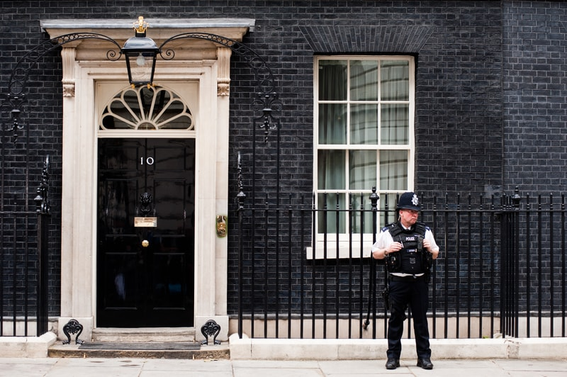 10 Downing Street Theresa May new home
