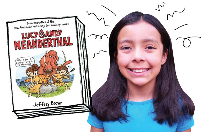 OWL reader Qori reviews Lucy & Andy Neanderthal