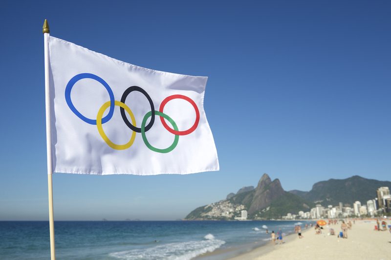 Refugee Olympic Team Flag