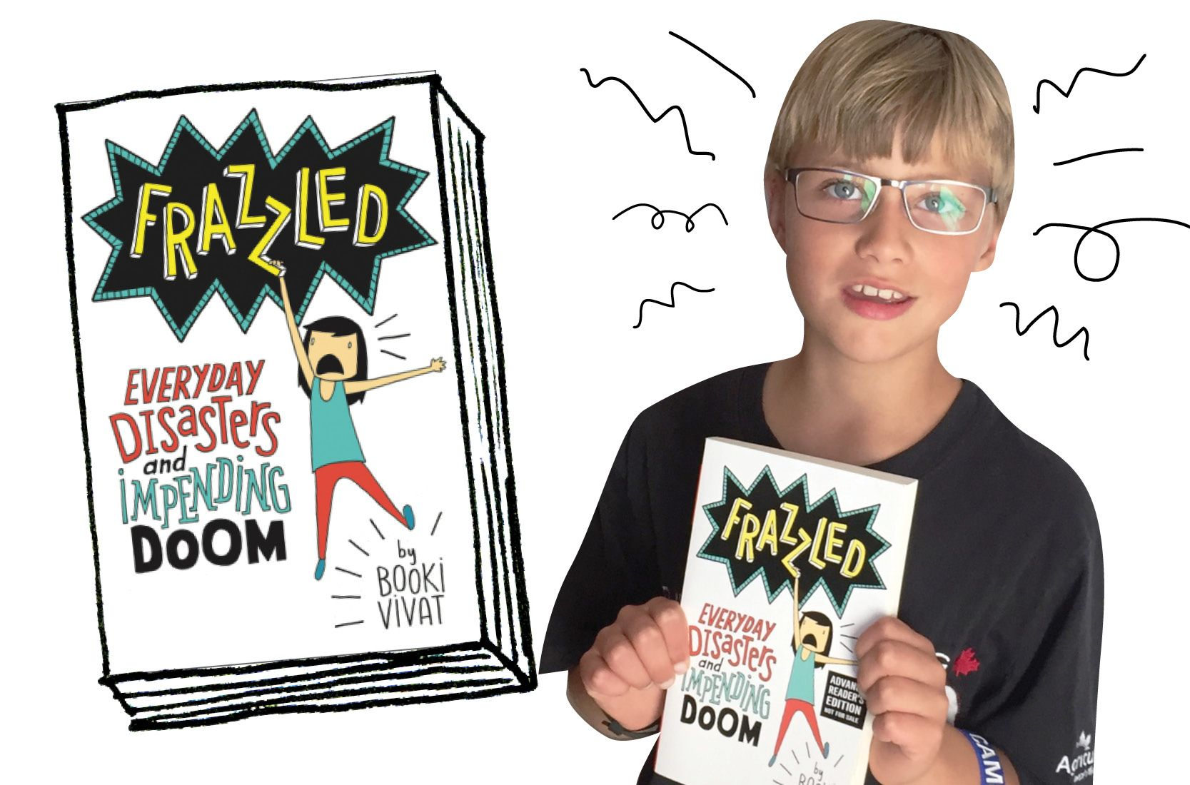Frazzled book review by Brady