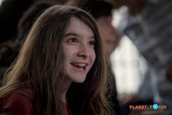 Hannah Alper at the 2016 Planet in Focus Film Fest