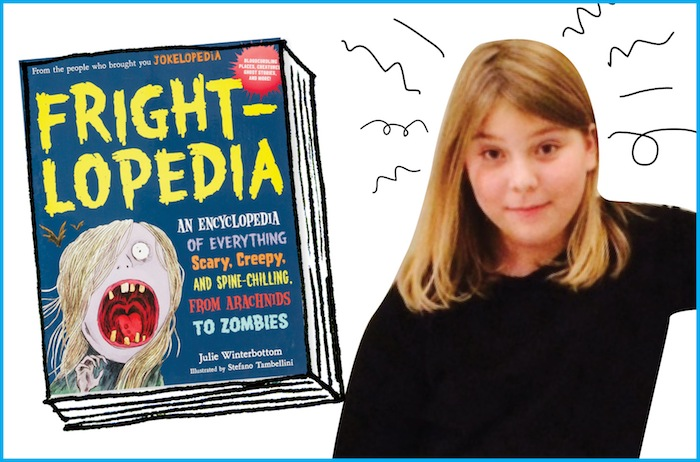 Kadence and the new book Frightlopedia