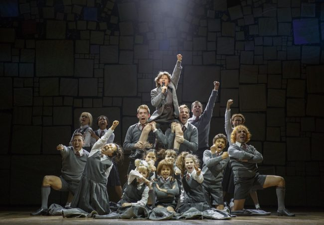 The original Canadian Company of MATILDA THE MUSICAL