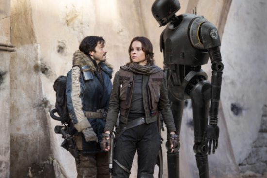 Jyn Andor K2SO Rogue One