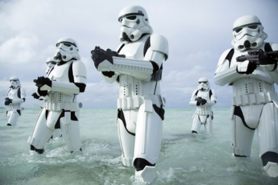 Stormtrooper beach Rogue One