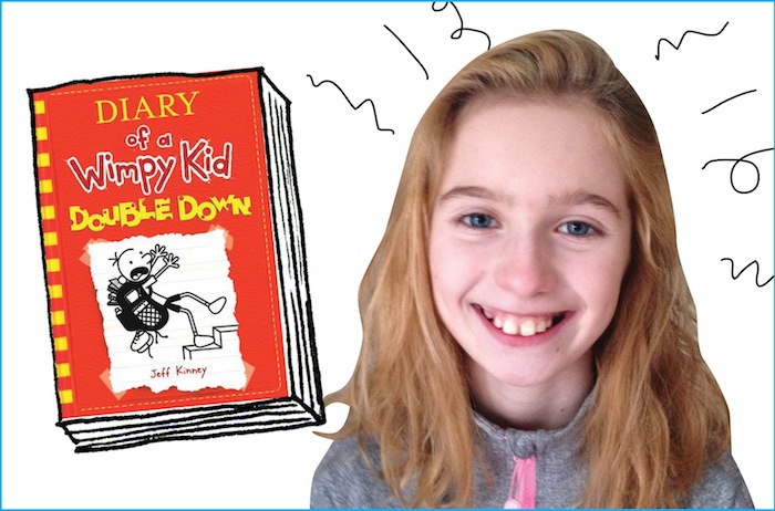 Book Review Diary Of A Wimpy Kid Double Down Owl Connected