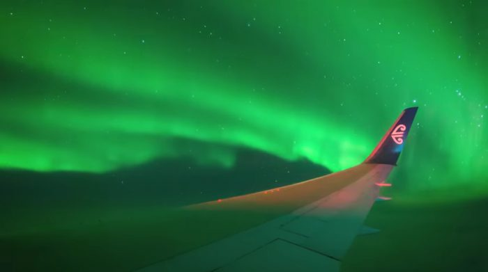Flight to the southern lights is out of sight!