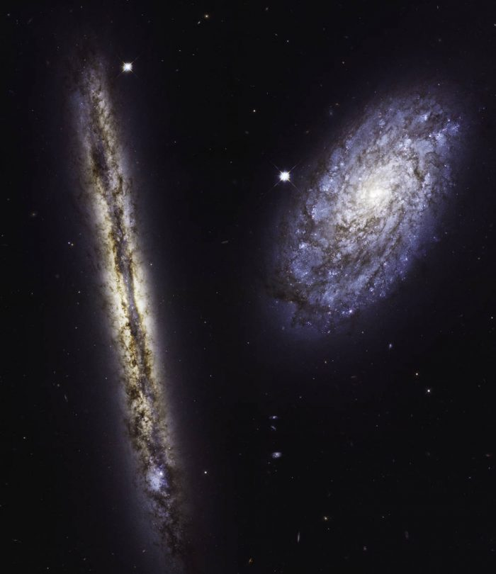 hubble spiral galaxies