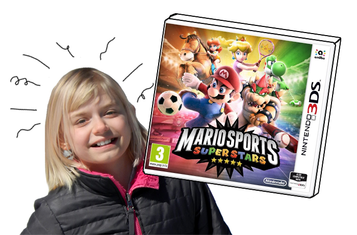 Mario Sports Superstars and Deseree