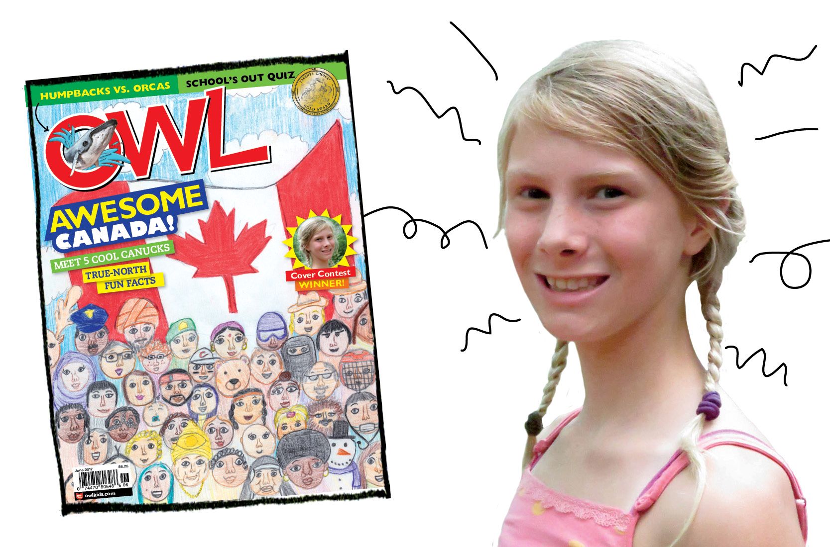 INTERVIEW: Meet OWL's Canada Cover Contest Winner