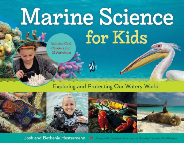 Marine Science for Kids book cover
