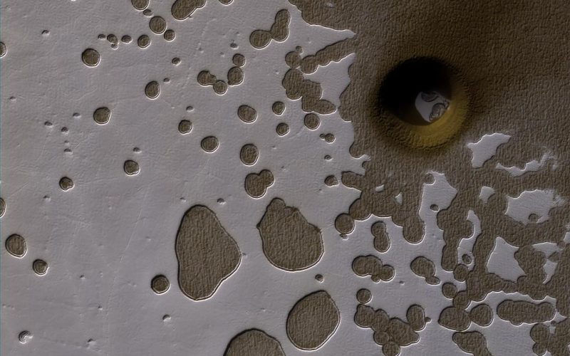 mars swiss cheese terrain