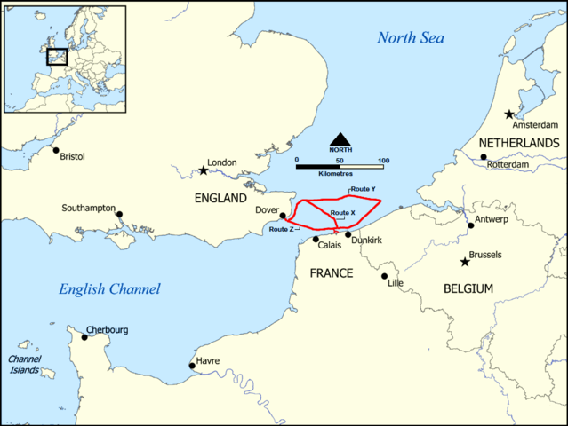 dunkirk map evacuation