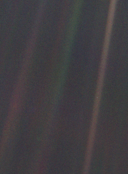 voyager 1 Pale_Blue_Dot