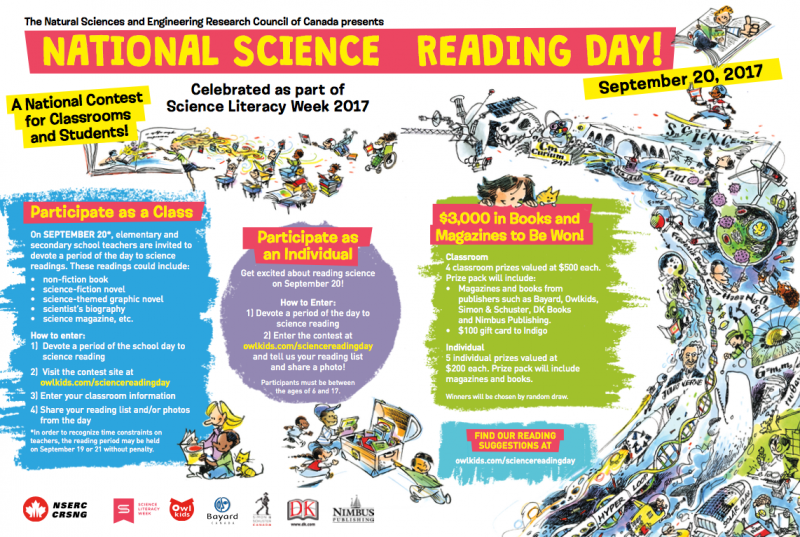 National Science Ready Day Contest magazine ad