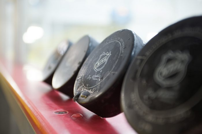 nhl season pucks