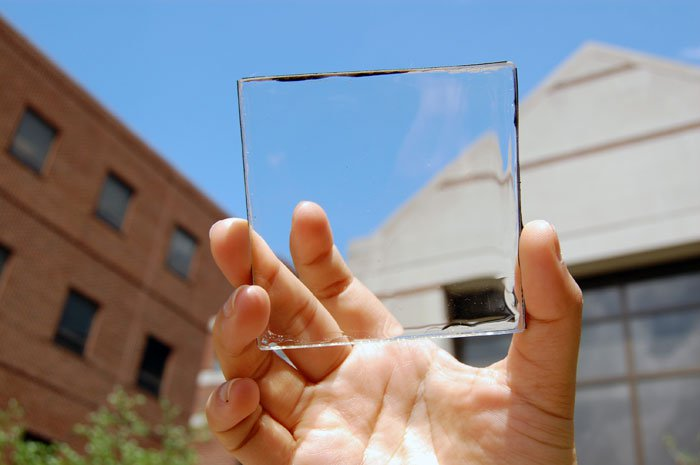 transparent solar panels