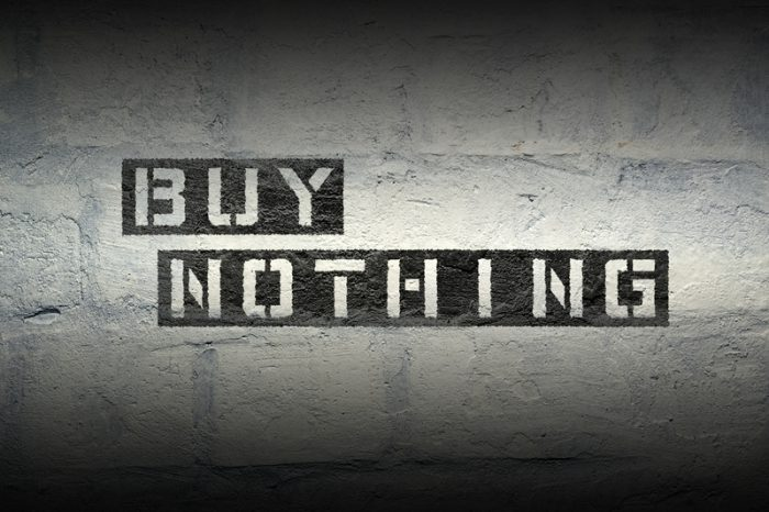 Buy Nothing Day is on Friday