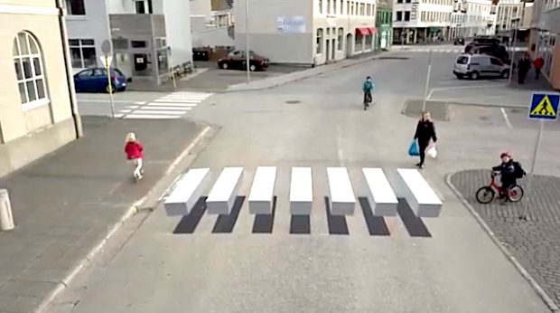 iceland crosswalk