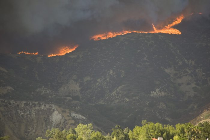 California wildfires continue to threaten homes