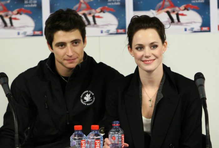 gold tessa virtue scott moir