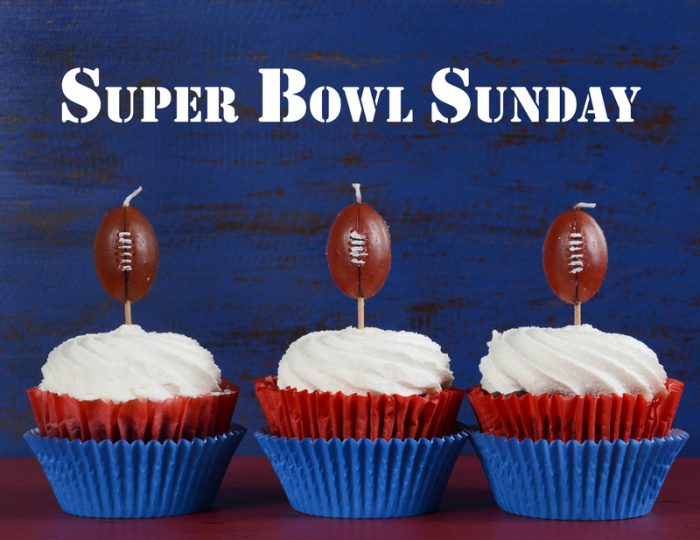 They don't call it the Super Bowl for nothing!