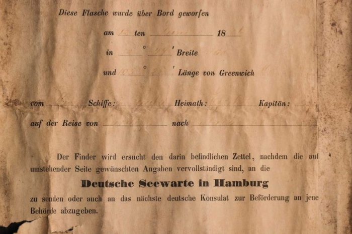 132-year-old message in a bottle is oldest ever found