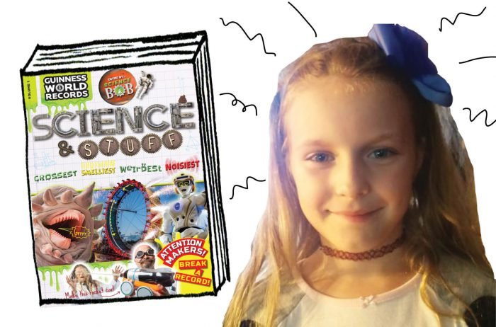 BOOK REVIEW AND CONTEST: Guinness World Records: Science & Stuff