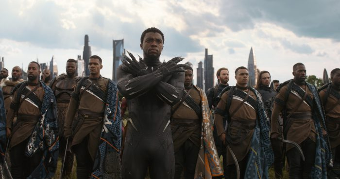infinity war black panther
