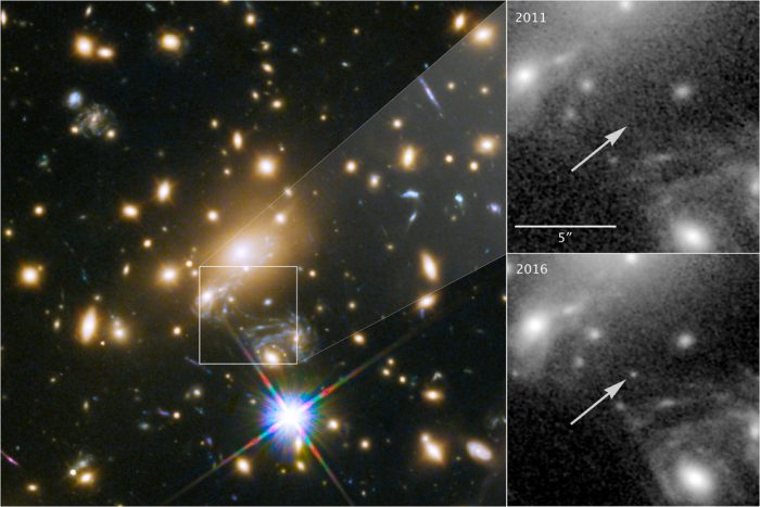 Check out a picture of the farthest star ever seen