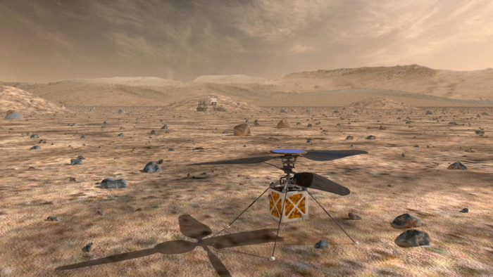 Mars helicopter is the coolest exploration gadget yet