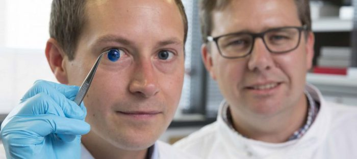 3D printed human corneas look great!