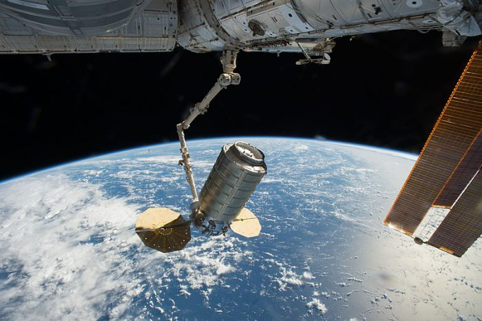 Lending a hand: SpaceX makes delivery to ISS's Canadarm2