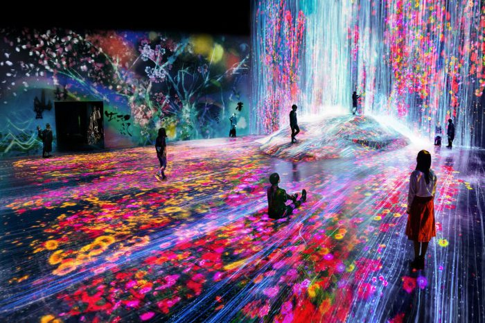 Look at how teamLab are redefining the museum