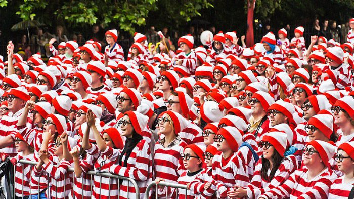 There's Waldo is the ultimate find-it robot