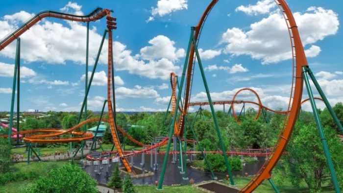 dive coaster Yukon striker