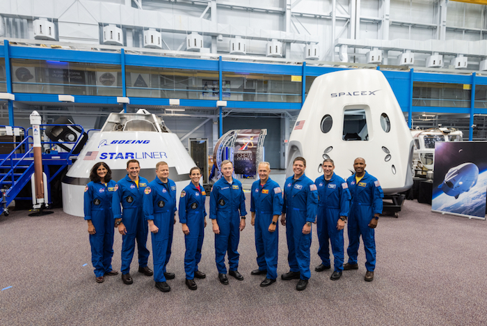 NASA names its first 'commercial' astronauts