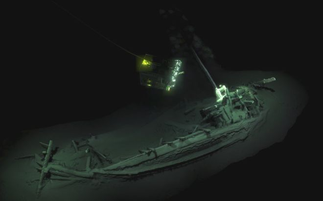 Oldest intact shipwreck ever found in the Black Sea