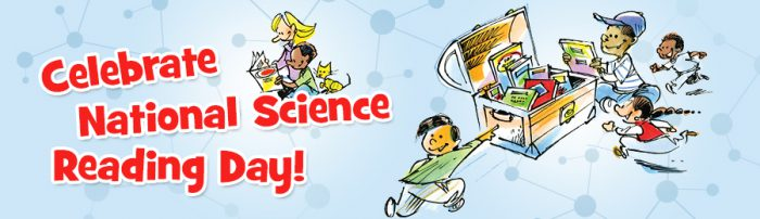 It's the 2018 National Science Reading Day Winners!