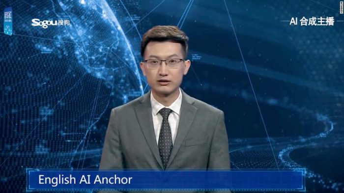 China debuts world's first AI news anchor