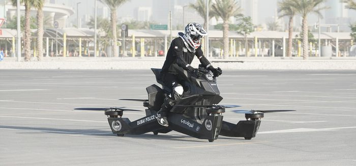 Will hoverbikes police Dubai in the future?