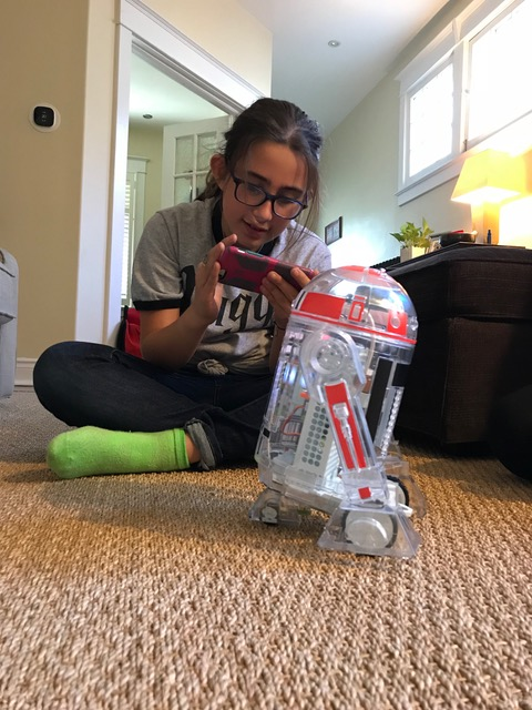 littleBits droid ruby