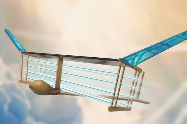 Experimental plane flies by electrifying the air